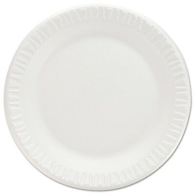 Non-Laminated Foam Dinnerware, Plates, 7''Diameter, White,125/Pack,8/Carton