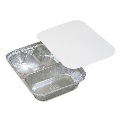 Aluminum Food Tray with 3-Compartment