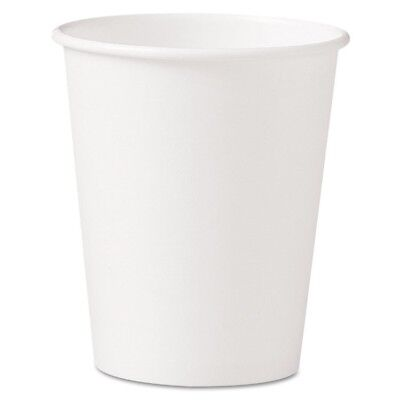 Polycoated Hot Paper Cups, 10 oz, White - SCC 370W