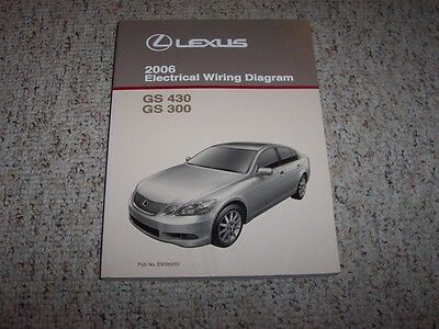 1999 lexus rx300 wiring diagram 1992 lexus sc300 sc 300 factory original electrical wiring ... 2006 lexus gs430 wiring diagram