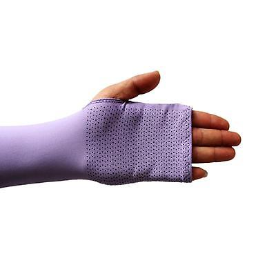 Unisex Sports Golf Driving Gloves Arm Hand Cool UV Sun Protector Long Sleeves