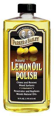 Lemon Oil Guitar Fretboard Fingerboard Cleaner and Conditioner 16oz / 473ml
