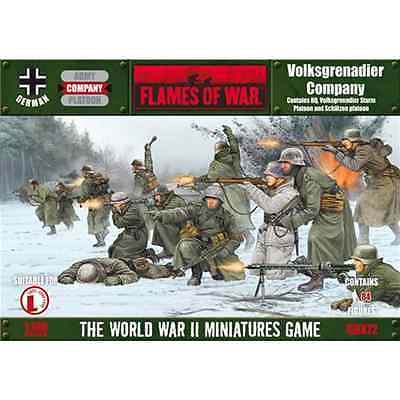 FoW-GBX72 - FLAMES of WAR: 15mm; Volksgrenadier Company