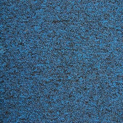 Desso contract carpet tiles mila blue heavy duty hard Bright blue tile