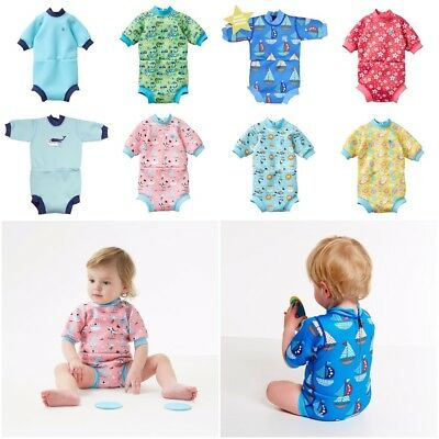 Splash About Happy Nappy Wetsuit 2 in 1 UV50+ Neoprene Swimwear Baby Toddler