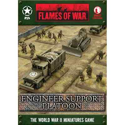 FoW-UBX37 - FLAMES of WAR: 15mm; US Engineer Support Platoon