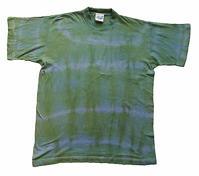Vintage Tie Dyed T-Shirt Indie Retro Large 42 Chest