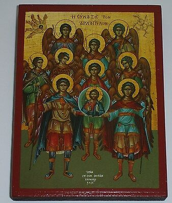 Ikone ERZENGEL Versammlung Icon Angel Ikona Icone Ikonen orthodox Icoon Icono