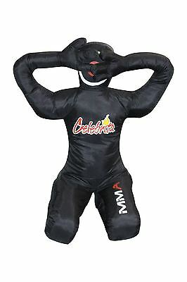 Celebrita Italy MMA Grappling Dummy Punching Bag - Lying down w /hands behind