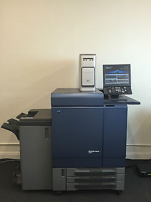 Konica Minolta Bizhub Press C8000 with Pro 80 Fiery & Booklet folding finisher