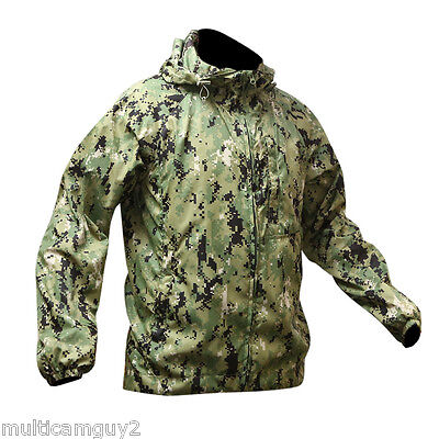 O.p.s/ur-Tactical Light-Weight Tactical Wind Jacket In Aor2, Small