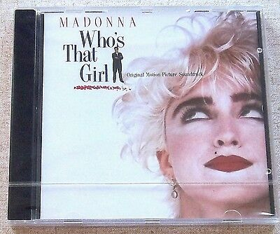 MADONNA Who's That Girl OST SOUTH AFRICA '87 Cat# WBCD1964 CD Scritti Politti