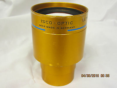 ISCO-OPTIC Ultra Star HD MC 90mm 35mm Cine Projector Lens Suitable for 70mm
