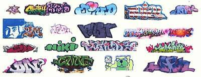 Ho Contemporary Graffiti Decals Assortment44 Free Shipping Domestic