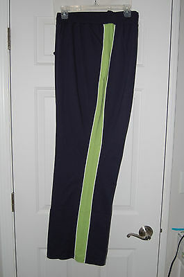 New Plus Size DUO Maternity Activewear Pants *Navy & Green*  1X 2X  3X