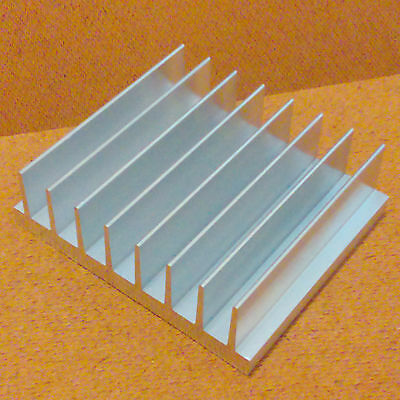 3 inch Heat Sink Aluminum (3.00 x 3.50 x 1.05) inches. Low Thermal Resistance.