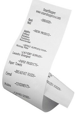 SmartShopper 3 Pack Thermal Paper Roll Refill - Free Shipping