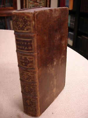 1736 French NT (MATTHEW ONLY) - Bible