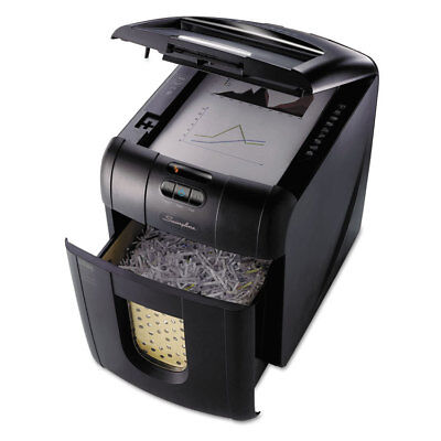 Stack-and-Shred 100M Auto Feed Shredder, Micro-Cut, 100 Sheets, 1-2 Users