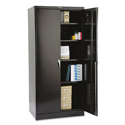 78'' High Deluxe Cabinet, 36w x 24d x 78h, Black