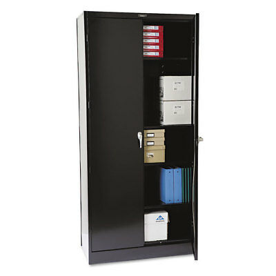 78'' High Deluxe Cabinet, 36w x 18d x 78h, Black
