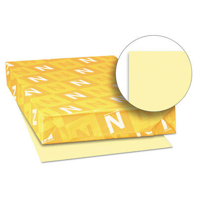 Exact Vellum Bristol Cover Stock, 67 lbs., 11 x 17, Yellow, 250 Sheets