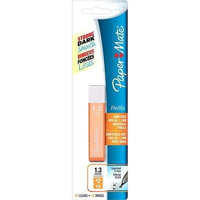 Papermate Mates 1.3mm Refill Pencil Lead - HB #2 - 12 Leads/Tube