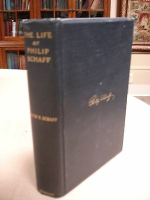 Life of Philip Schaff - Includes ephemera related to Schaff - 1897