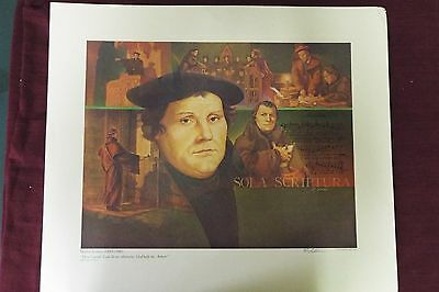 Limited Edition Print - Martin Luther - 1979 - Signed by Artist • CAD $240.08