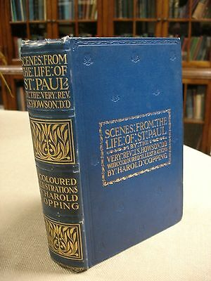 Scenes from the Life of St. Paul with letter signed by J.S. Howson