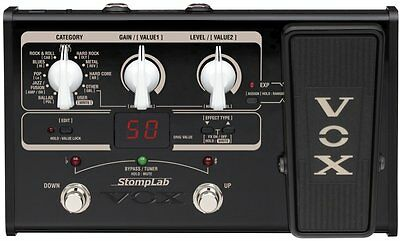Vox Stomplab IIG Modeling Guitar Effects Processor 2G Multi-Effect Pedal