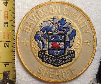 DAVIDSON COUNTY NORTH CAROLINA SHERIFF PATCH (HIGHWAY PATROL, POLICE, SHERIFF)