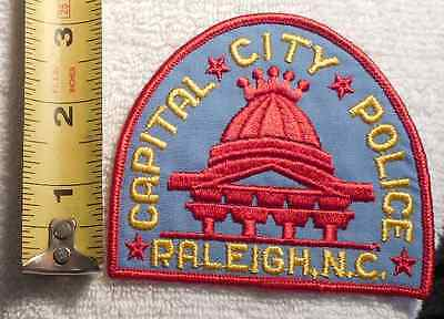 RALEIGH NORTH CAROLINA POLICE PATCH (HIGHWAY PATROL, SHERIFF, STATE)