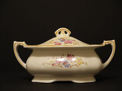 Alfred Meakin Harmony Shape Covered Sugar Bowl~England~78283