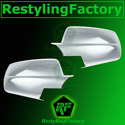 15 Chevy Silverado 2500+3500+HD Triple Chrome plated Full Mirror Cover 2015