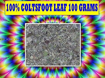 COLTSFOOT LEAF 100g TEA ☆100% FRESH Tussilago farfara☆RELAXATION☆DRIED HERB☆
