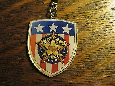 Deputy Sheriff Keychain - United States Deputy Sheriffs' Association Key Ring
