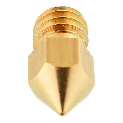 0.2mm 3D Extruder Nozzle Head for Makerbot MK8 RepRap Brass DIY use Machine