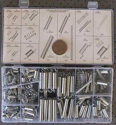 SPRING KIT COMPRESSION & EXTENSION ASSORTMENT 200Pce