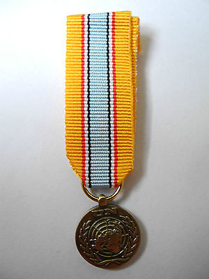 Médaille Miniature Nation Uni In The Service Of Peace