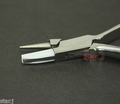 Inclination Plier Stainless Steel Flat Nylon Round Optical Adjusting Tools New