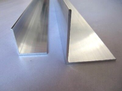 Aluminium Extruded Angle Various Sizes Thickness 2 - 6 mm / 0.5  -  5M LONG !