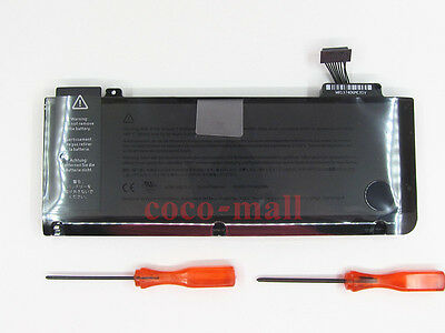 "New 63.5Wh A1322 Battery For MacBook Pro 13"" A1278 MB990LL/A 661-5229 661-5557"