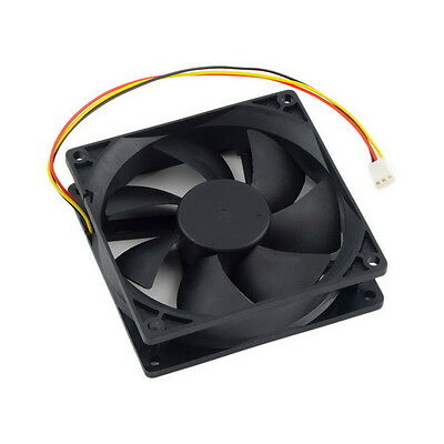 12V 3-Pin 9cm 90 x 25mm 90mm CPU Heat Sinks Cooler Fan DC Cooling Fan 65 CFM OK