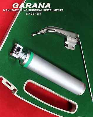McCoy MACINTOSH Laryngoscope Flexible Tip Blade # 1 Fiber Optic