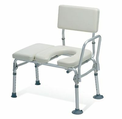 Guardian / Medline - Padded Transfer Bench w/ Commode Opening!