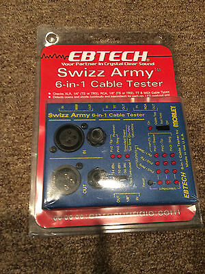 Ebtech Swizz Army  6 in 1 cable tester