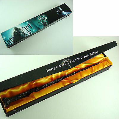 "HOT New Harry Potter 14.5"" Magical Wand Replica Cosplay Christmas Gift In Box"