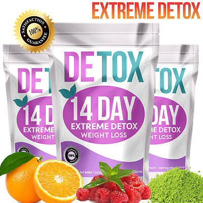 TEATOX 14 DAY DETOX (Weight Loss Tea, Slimming Tea, Diet Tea, BURN FAT TEA)
