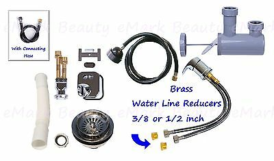 eMark Beauty Shampoo Bowl Sink Plumbing Parts Kit Equipment TLC-116K